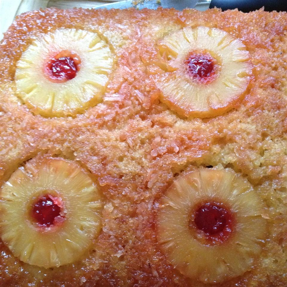 Hawaiian Pineapple Upside Down Cake Debbie Leworthy