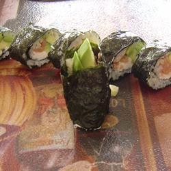 Smoked Salmon Sushi Roll MMZEHER