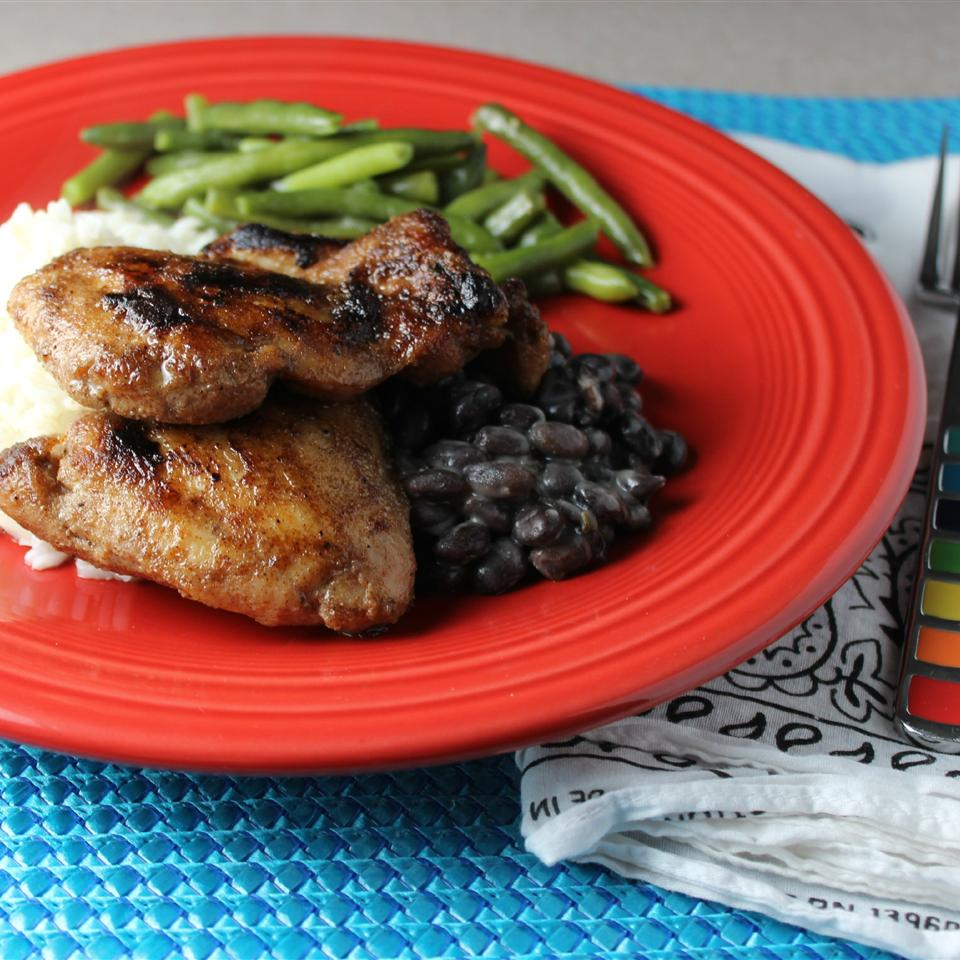Perfect Baked Jerk Chicken