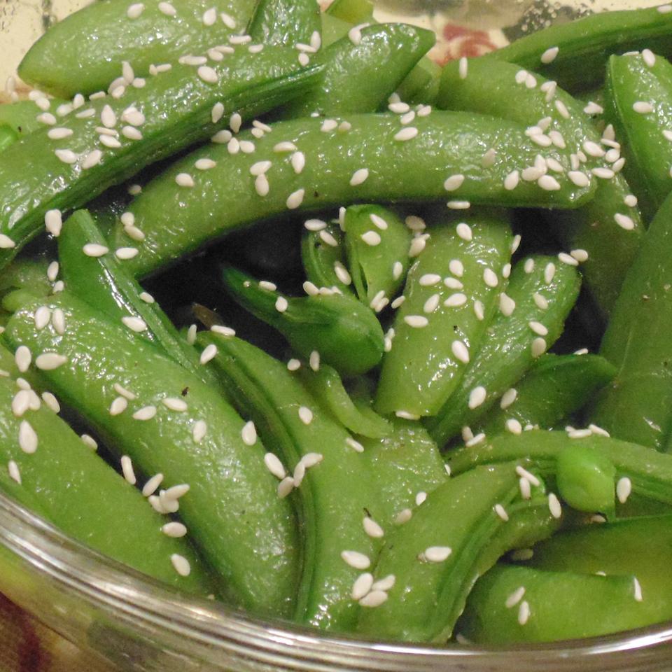 Sesame Snap Peas