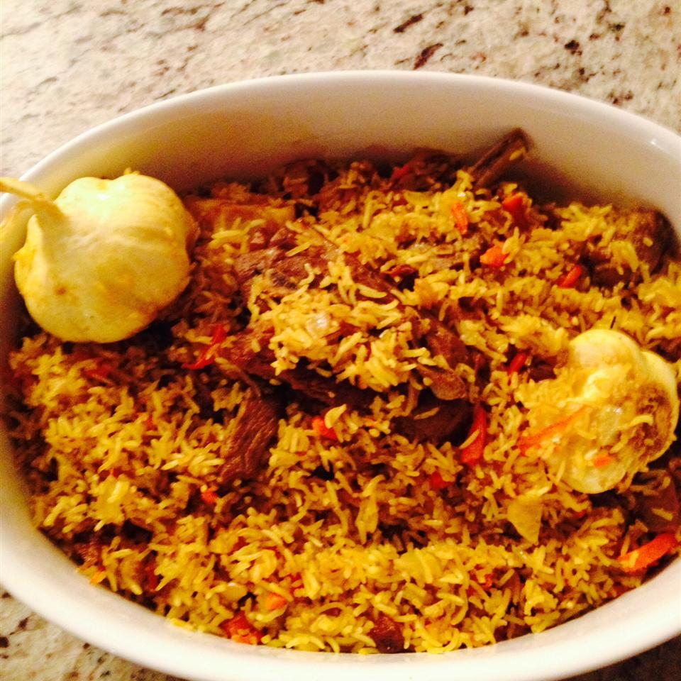 Uzbek Plov (Lamb and Rice Pilaf) Konstantin