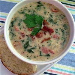 Rich Italian Sausage and Potato Soup