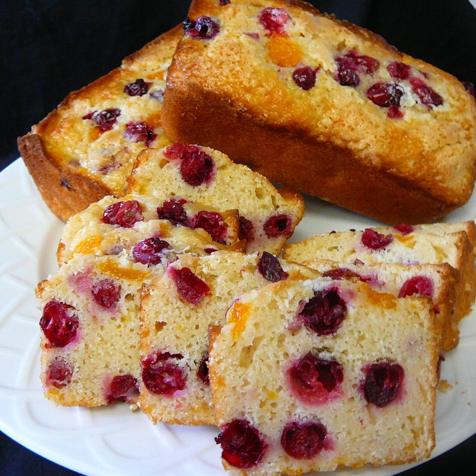 Moist Cranberry Orange Bread