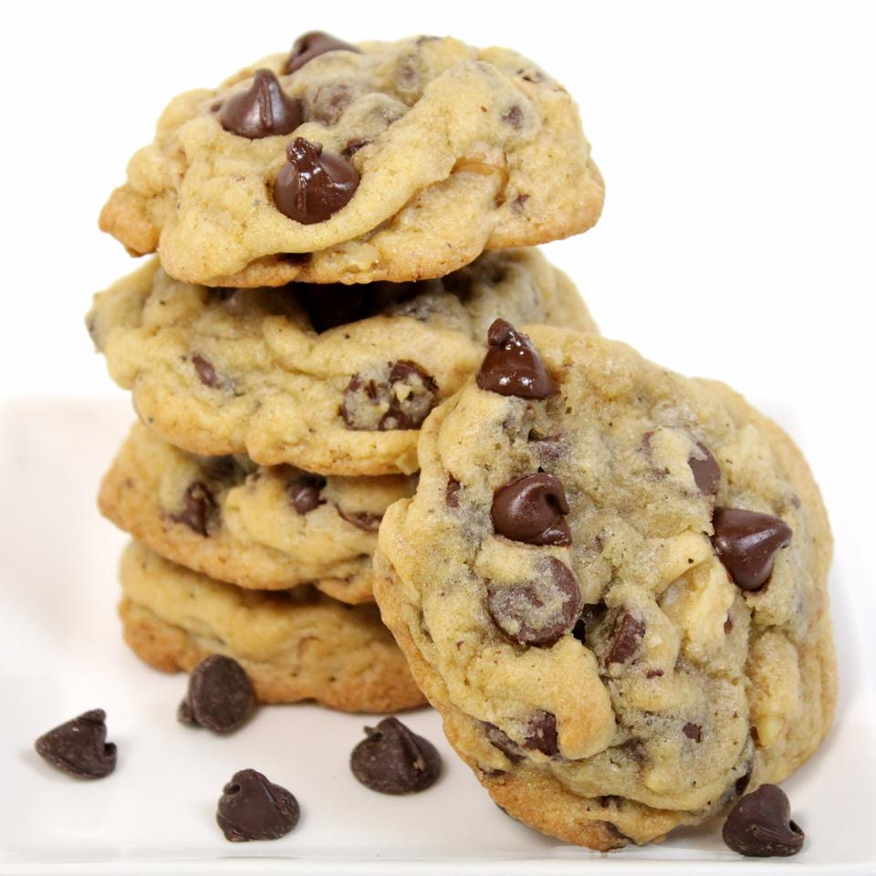 Zippy Chocolate Chip Cookies Jeanne