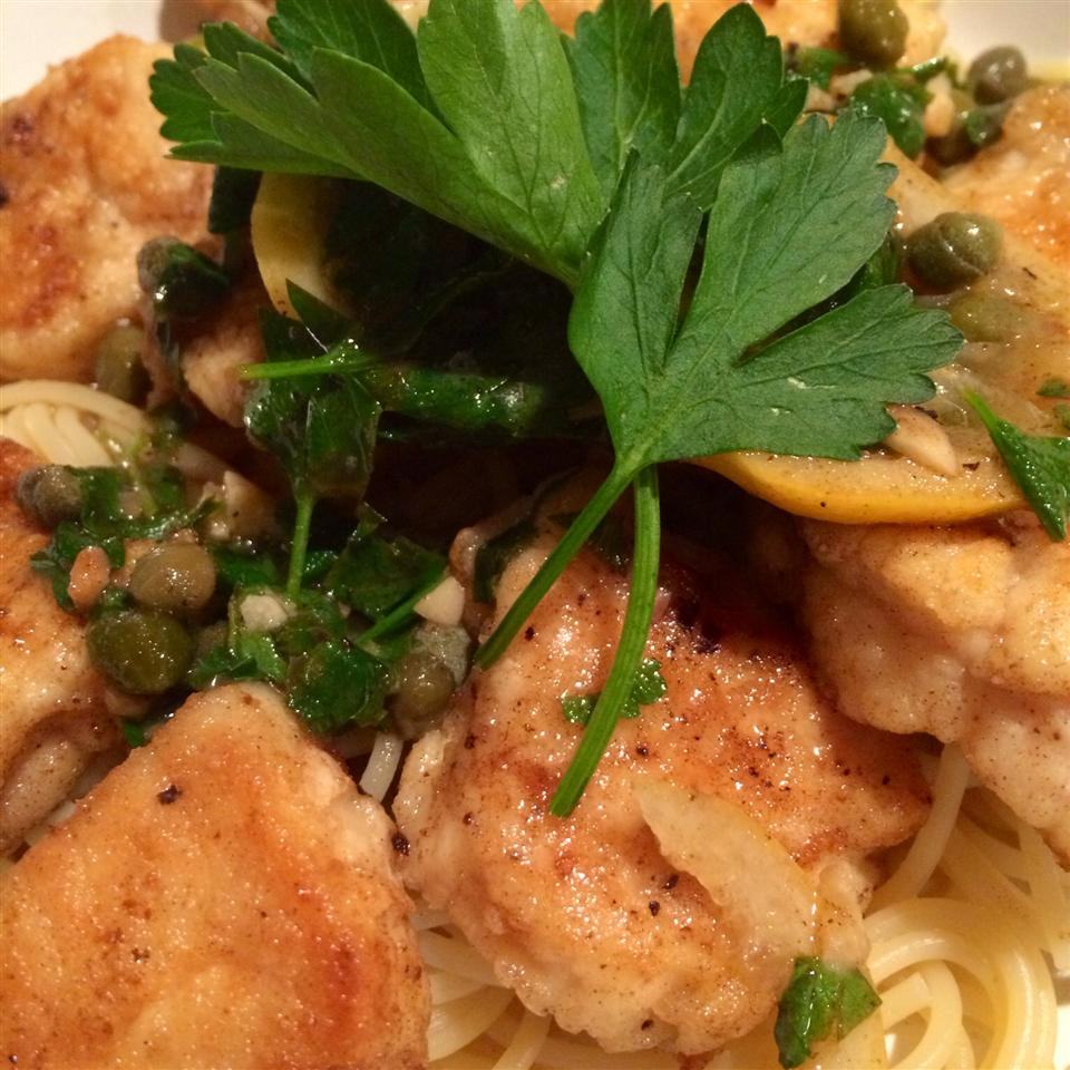 Lemon Chicken Piccata M. Suzy Swett Lewis