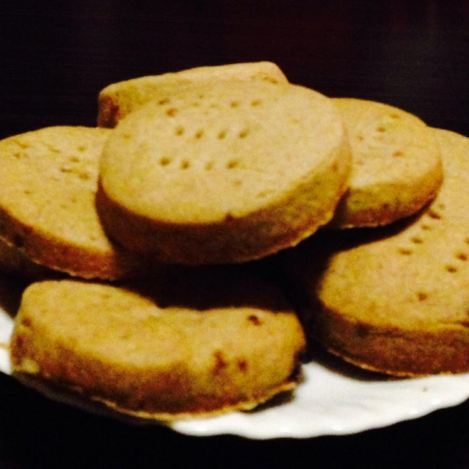 Brown Sugar Spiced Shortbread