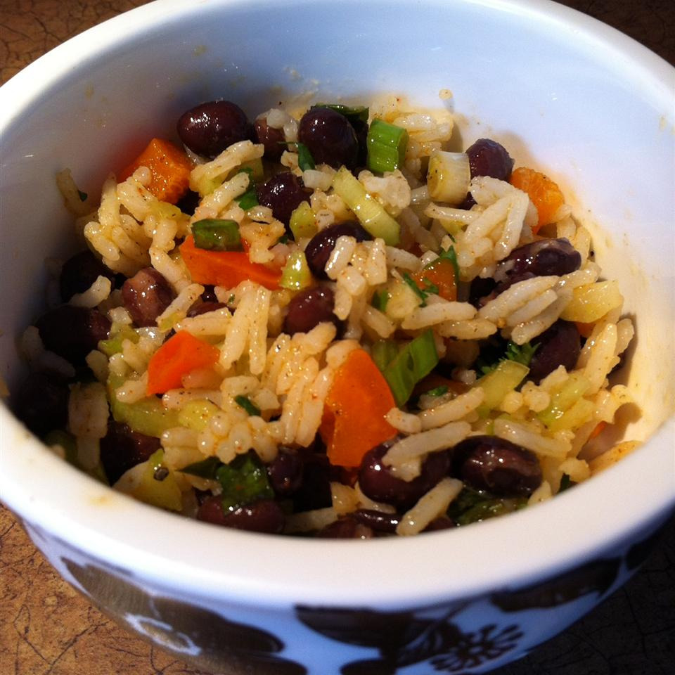 Herbed Rice and Spicy Black Bean Salad Miss Kay