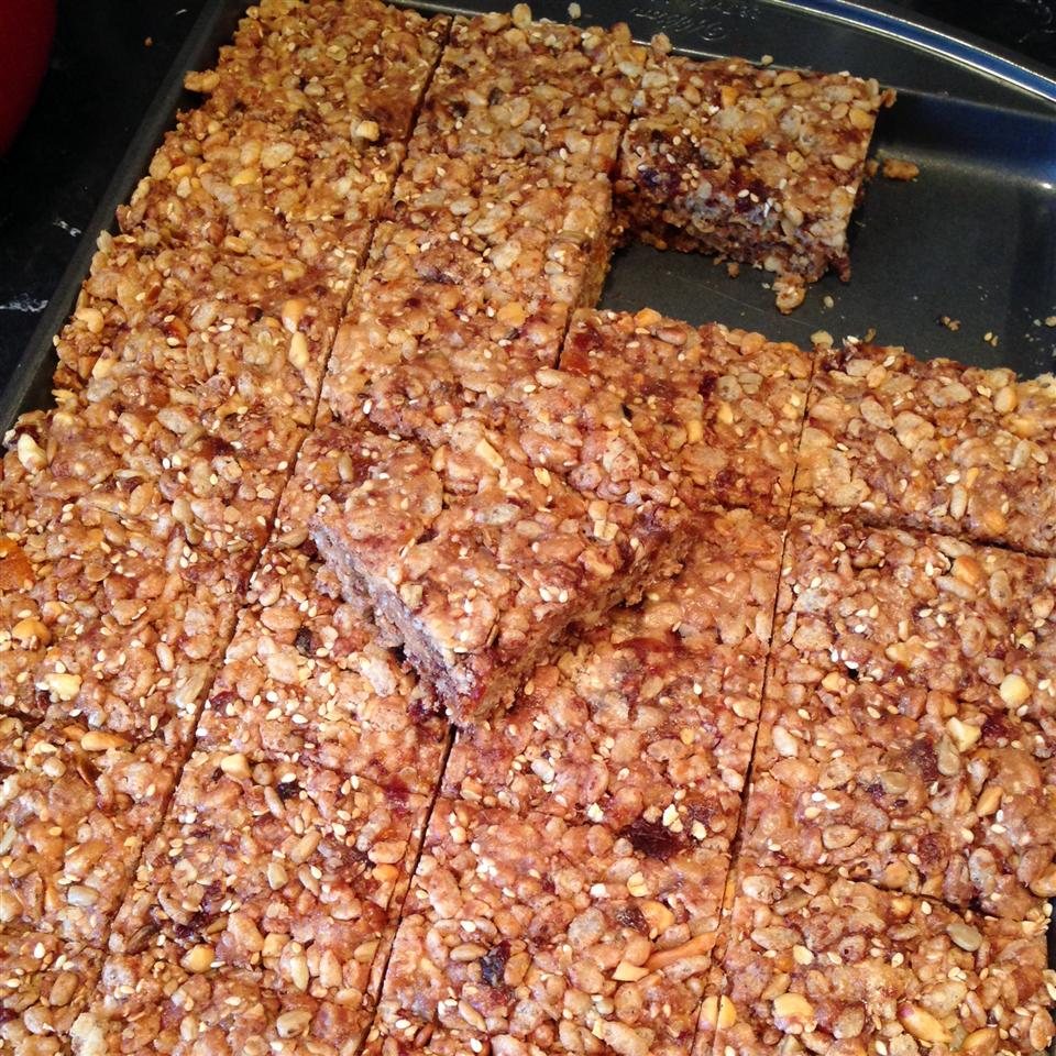 Rice Cereal Energy Bars Amy A