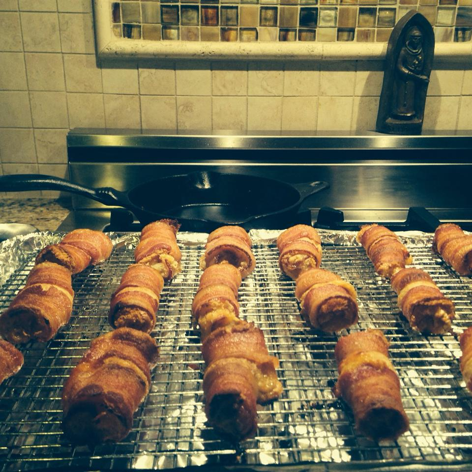 Sweet and Savory Bacon Wraps