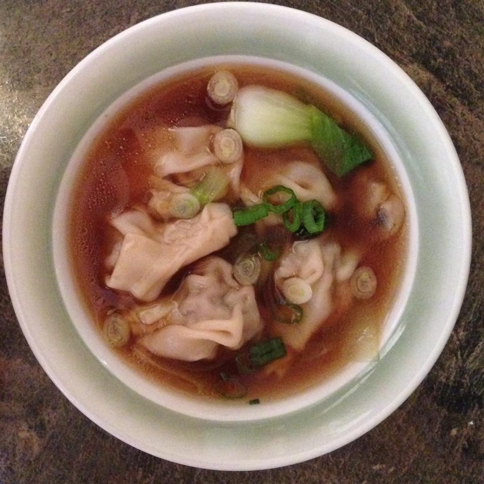 Homemade Wonton Soup mcalbert