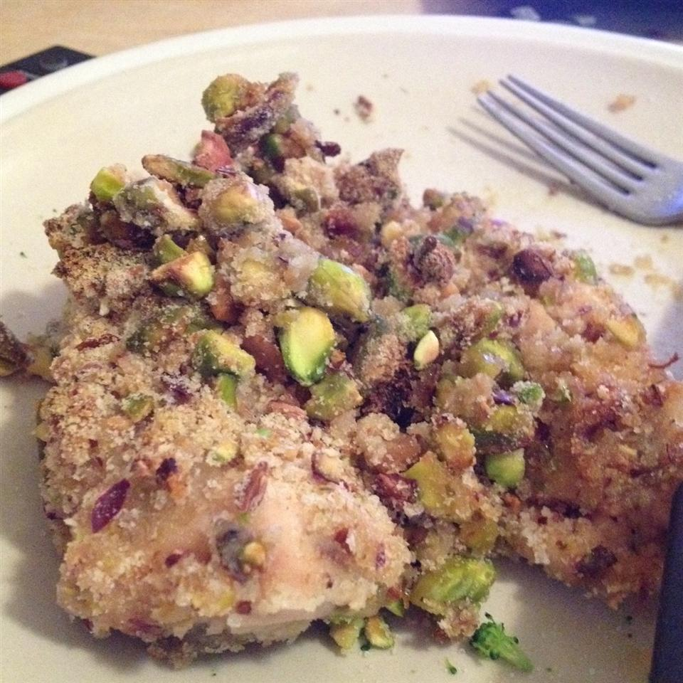 Pistachio Crusted Chicken Shay