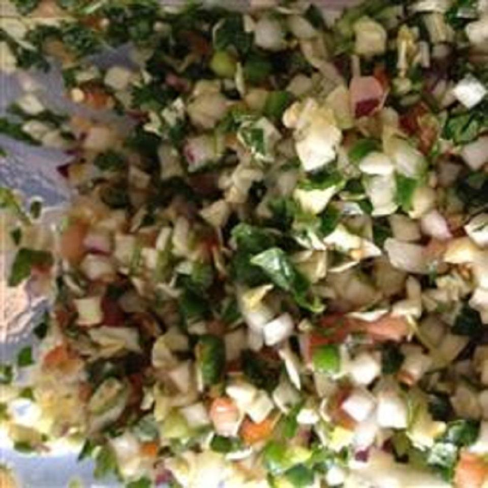 Cabbage Pico de Gallo Josh