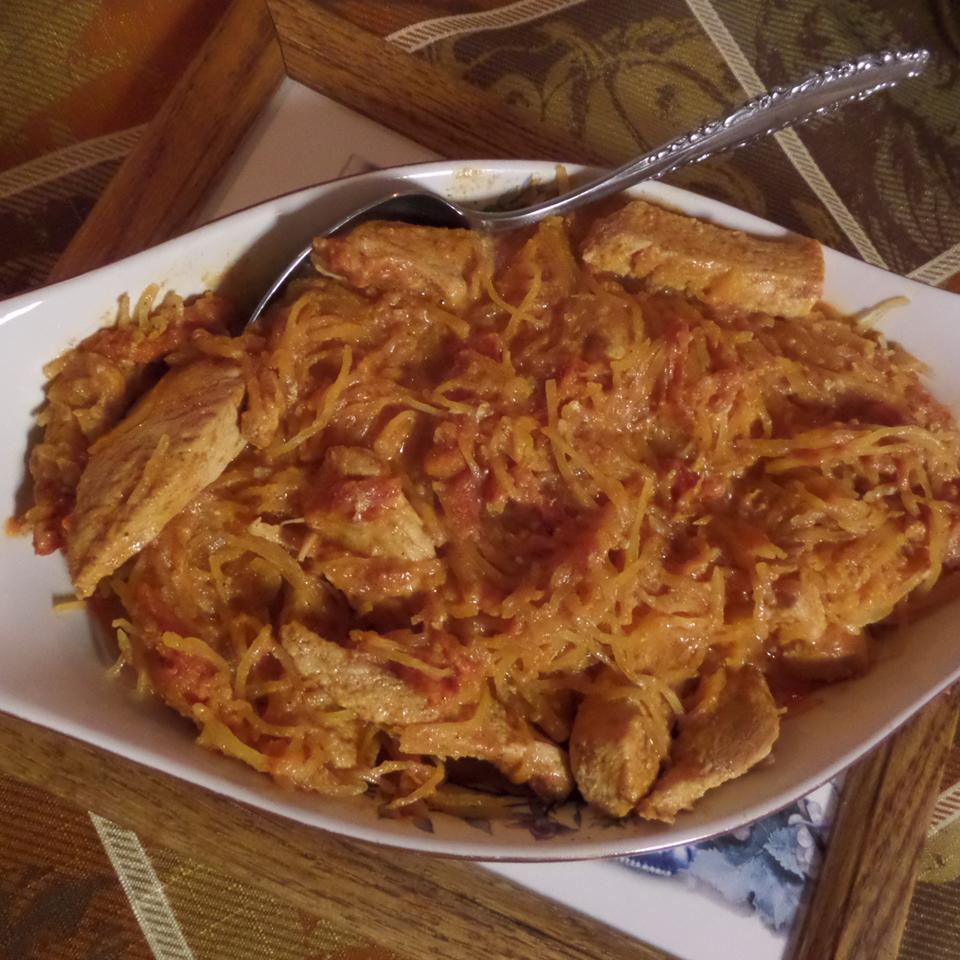 Chicken Paprika with Spaghetti Squash Laurie62