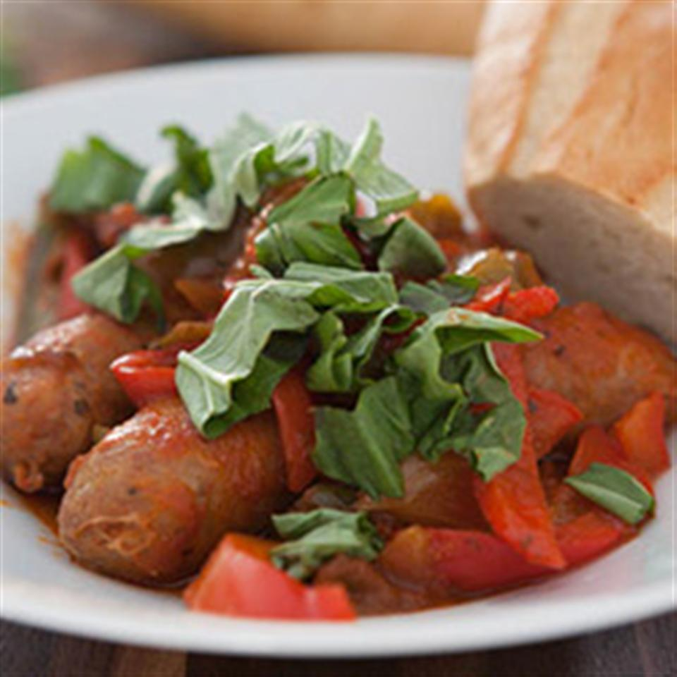 Slow Cooker Sausage and Peppers Trusted Brands