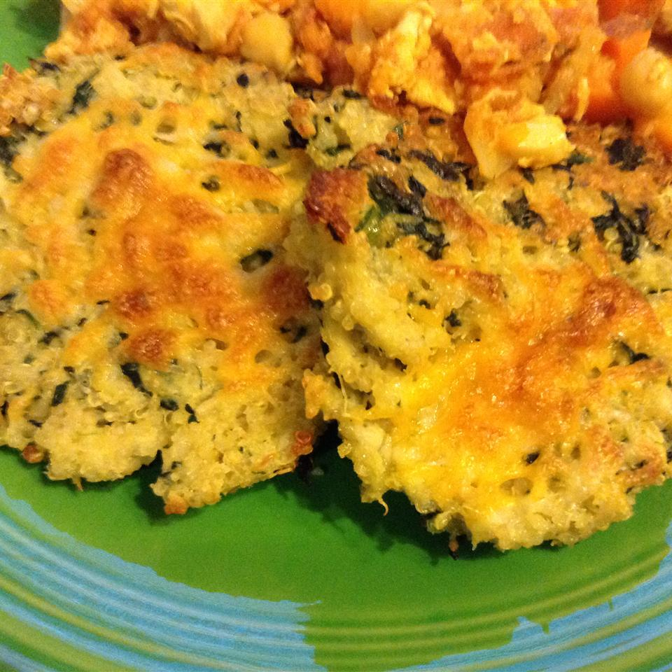 Mini Baked Quinoa Patties engin