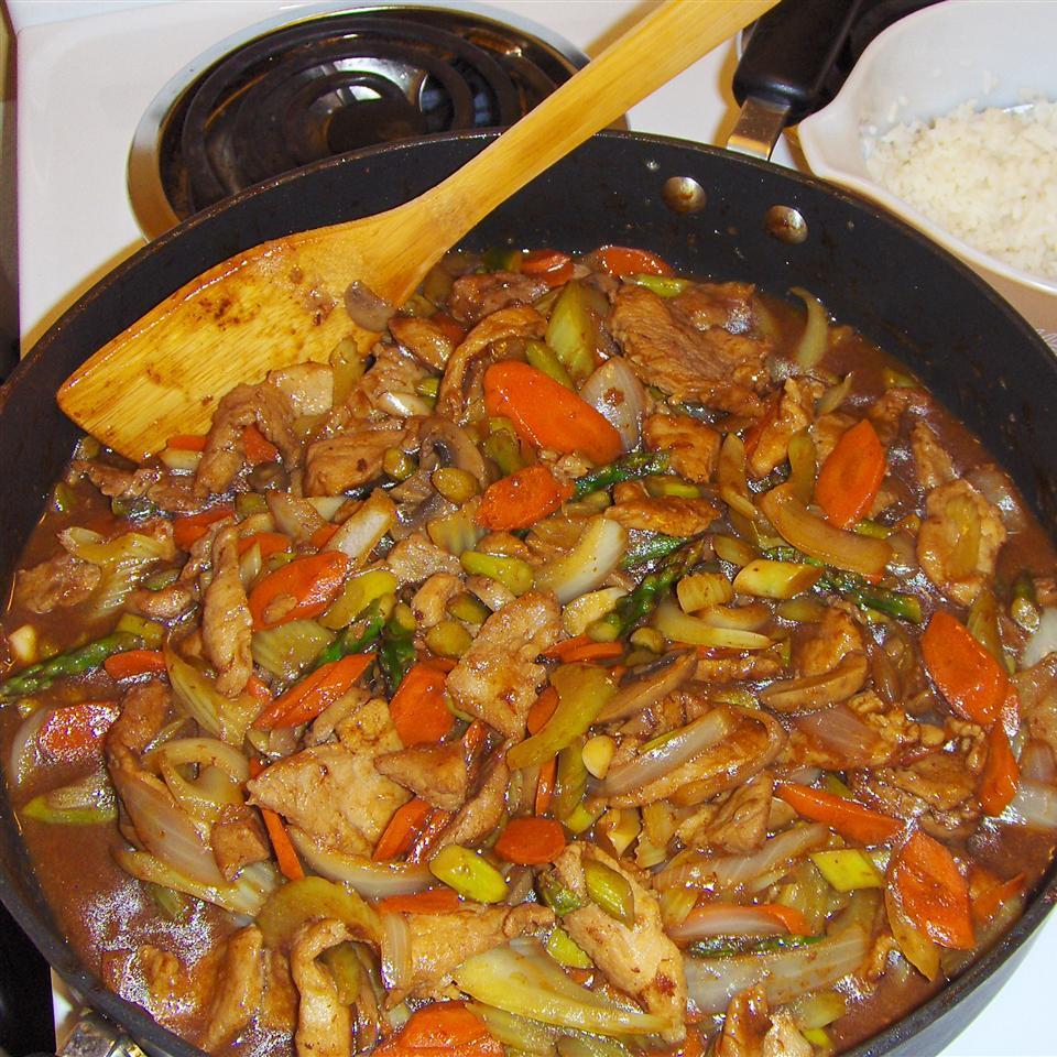 Spicy Pork Stir-Fry Becky Sue Miller