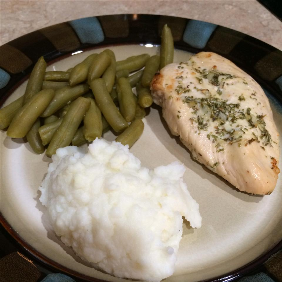 Broiled Herb Butter Chicken dlewis