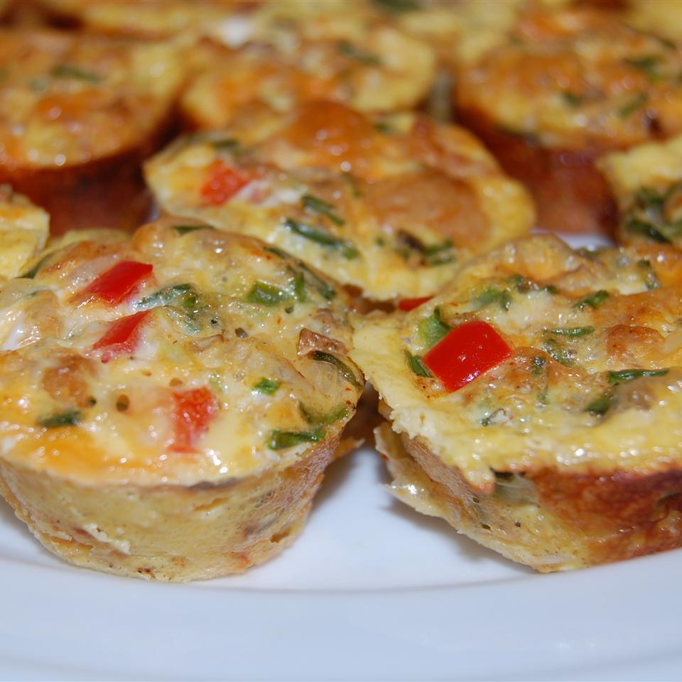High-Protein Chicken Taco Egg Mini Muffins Raquel Teixeira