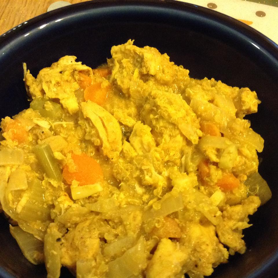 Slow Cooker Chicken Curry with Quinoa CPolencheck