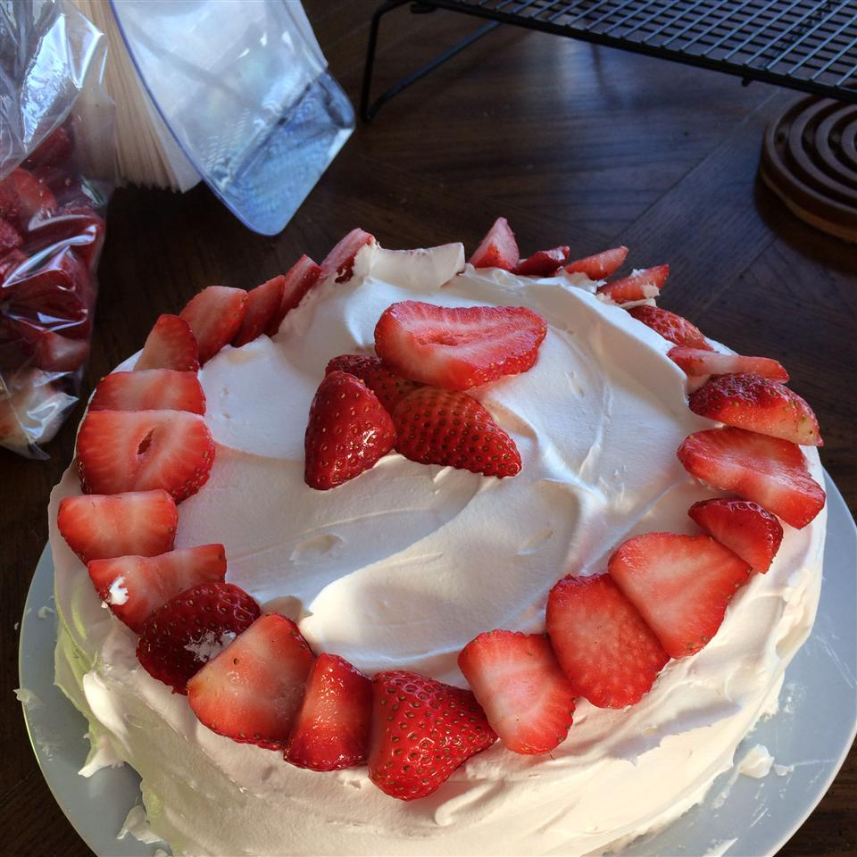 Strawberry Brownie Delight