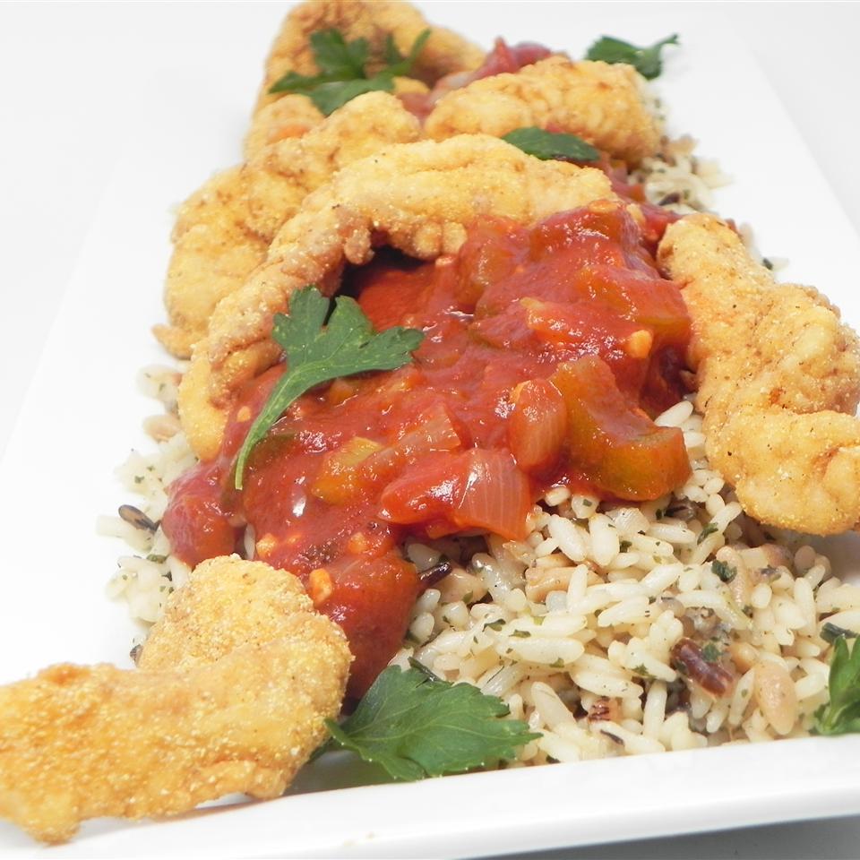 Fried Creole Catfish