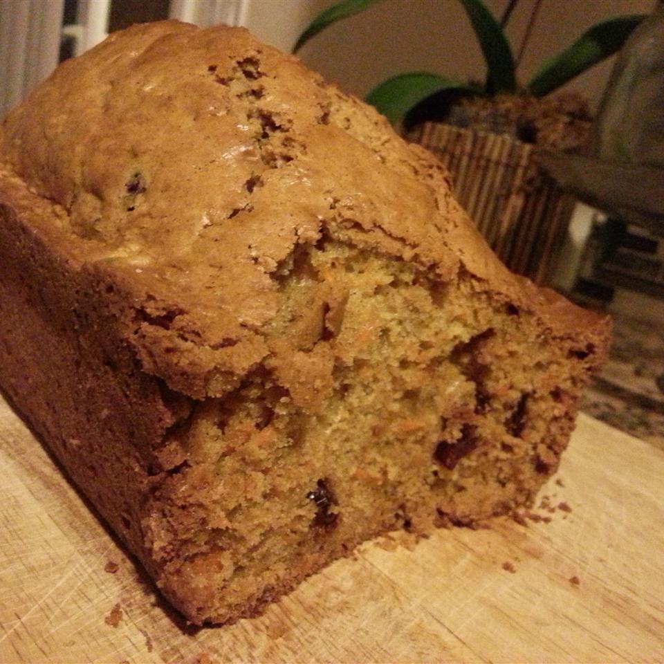 Cinnamon Carrot Bread
