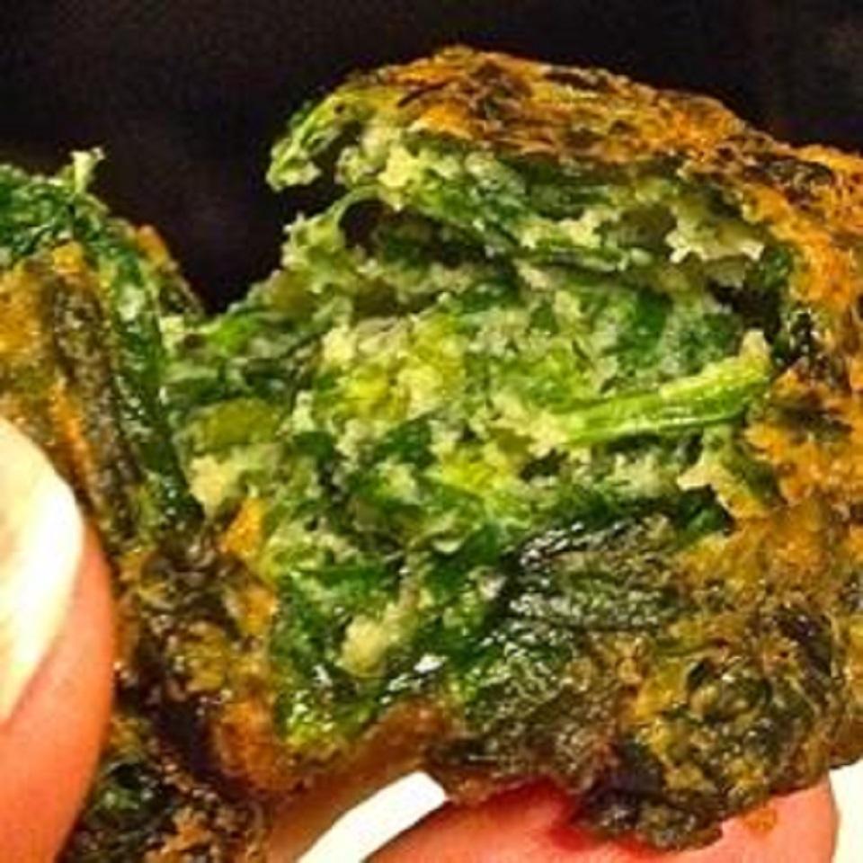 Bunuelos de Espinaca (Spinach Fritters) Bake'n'Eat