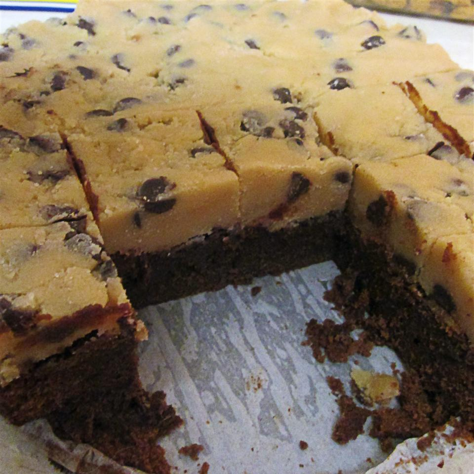 Karen's Cookie Dough Brownies Taryn Renée