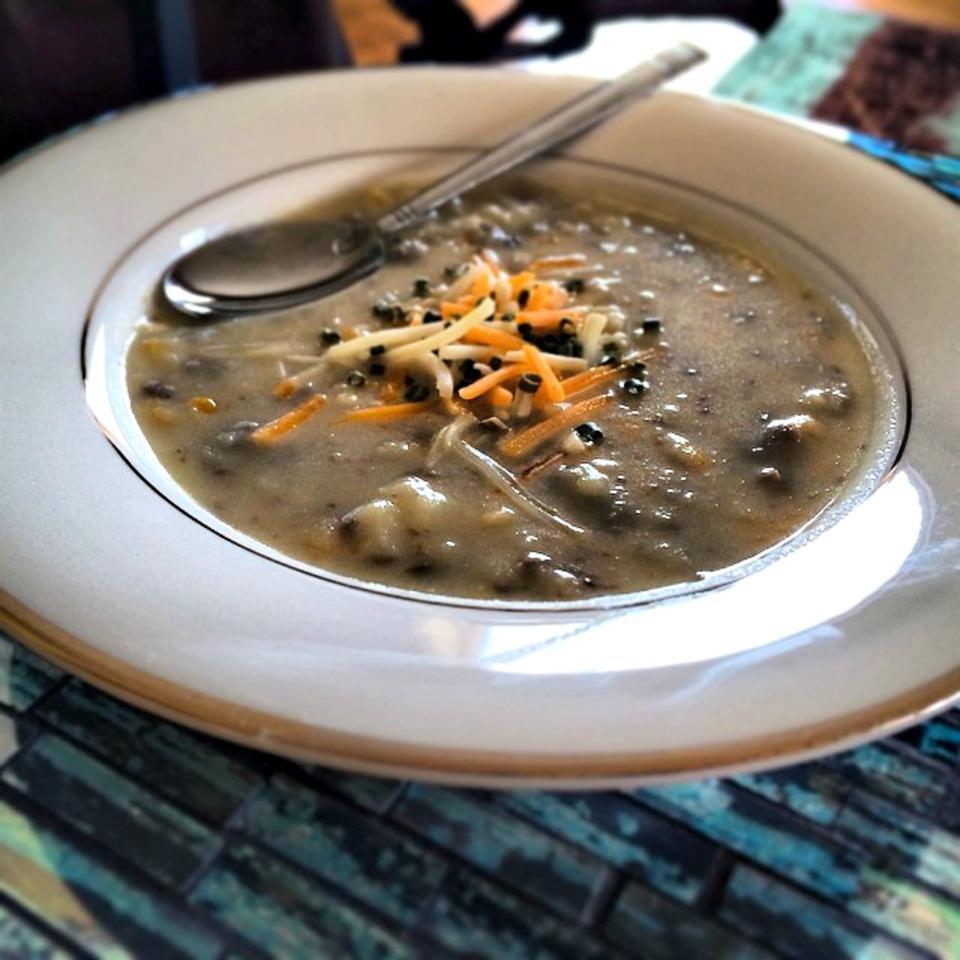 Cream of Mashed Potato Soup