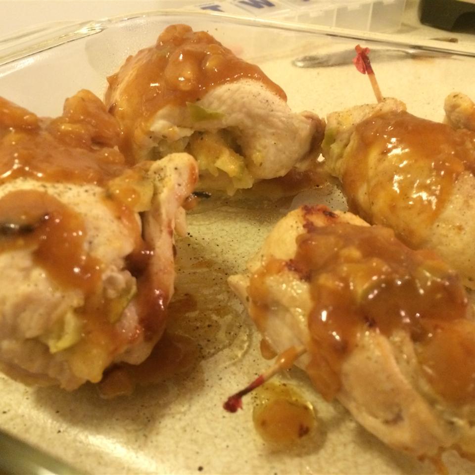 Apple Stuffed Chicken Breast Drew Thomas