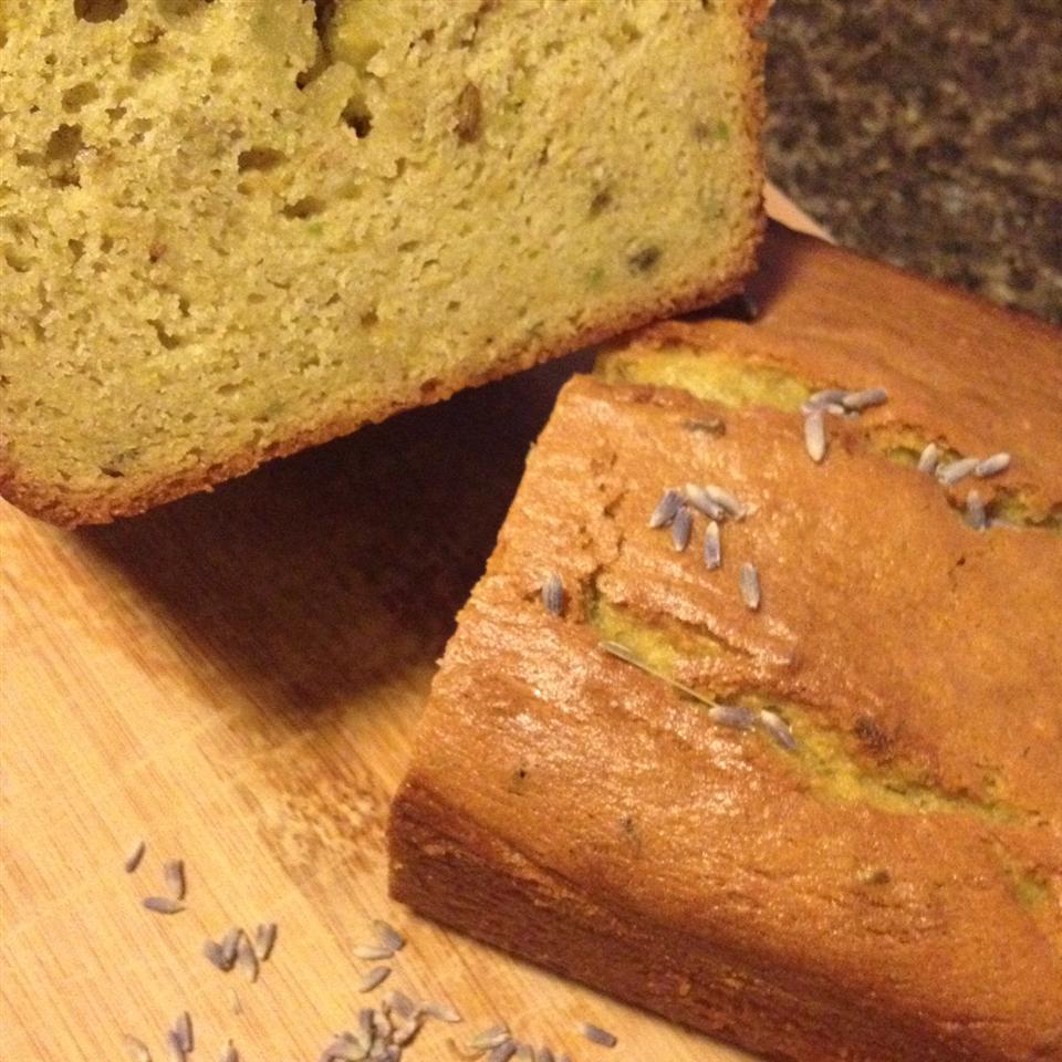 Lemon Lavender Avocado Loaf