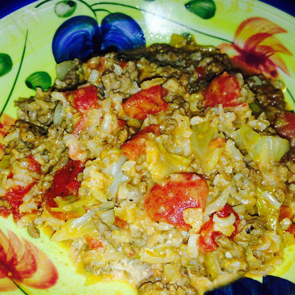 Unstuffed Cabbage Dinner GFCF Mom