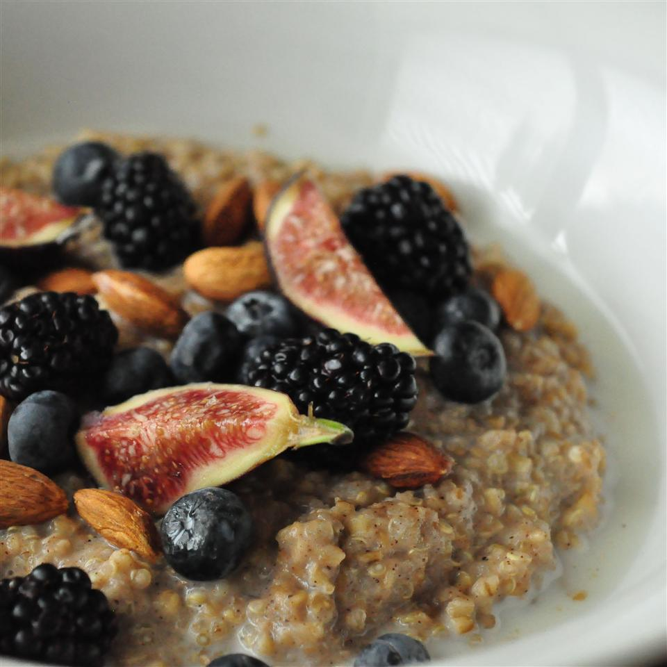 Brown Rice Breakfast Porridge CHERRY007