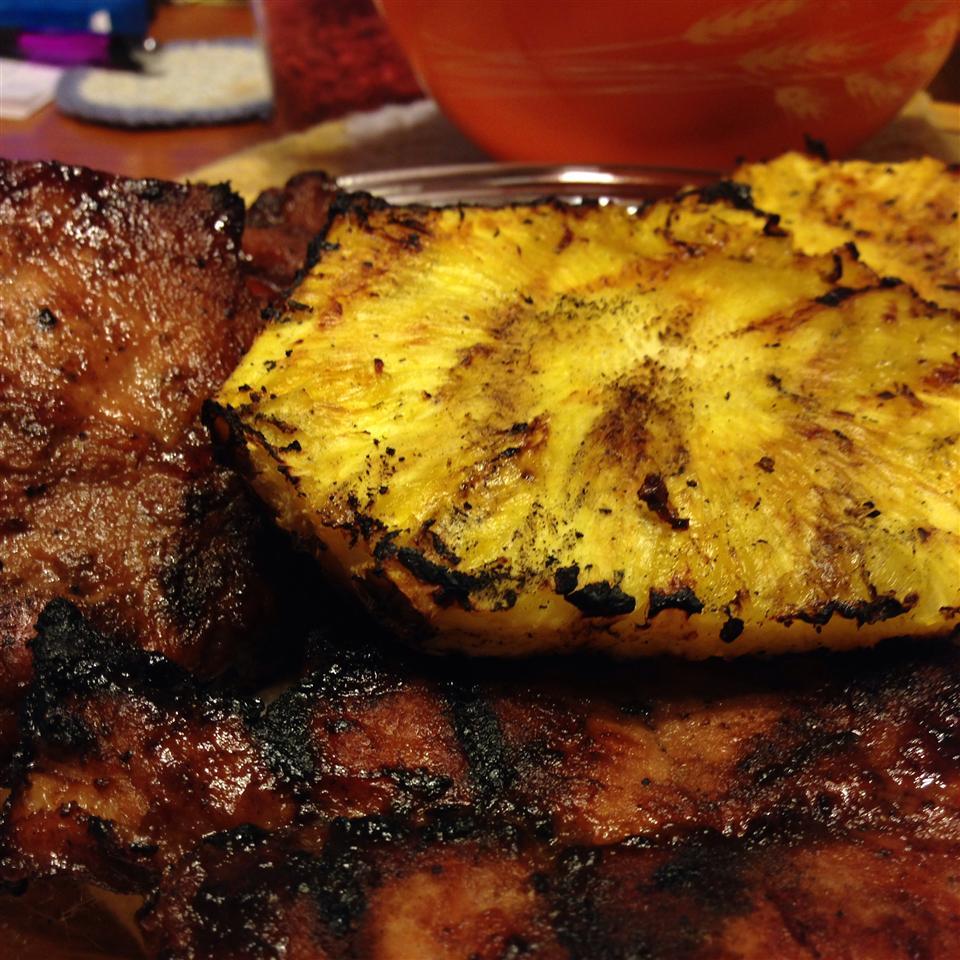 Pineapple Grilled Pork Chops