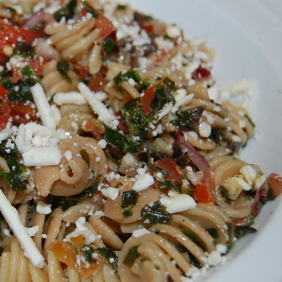 Fire and Ice Pasta with Fresh Herbs Raquel Teixeira