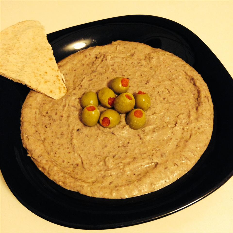 Black Bean Hummus Lisa Knox