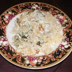 Easy Turkey Tetrazzini