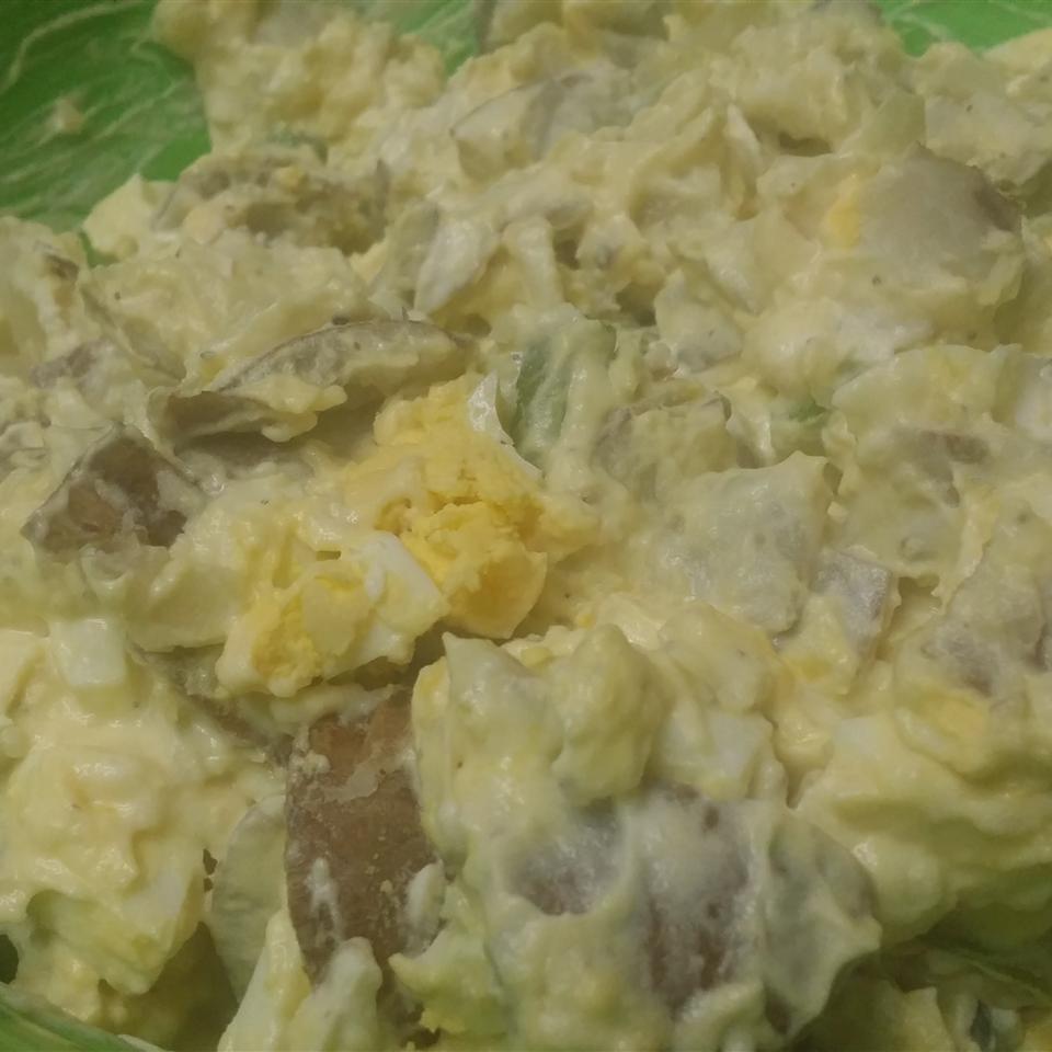 Bacon and Eggs Potato Salad Ruth Fernandez