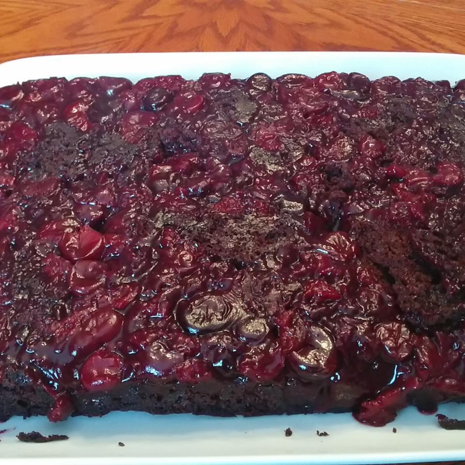Chocolate Cherry Upside Down Cake Sarahmom24