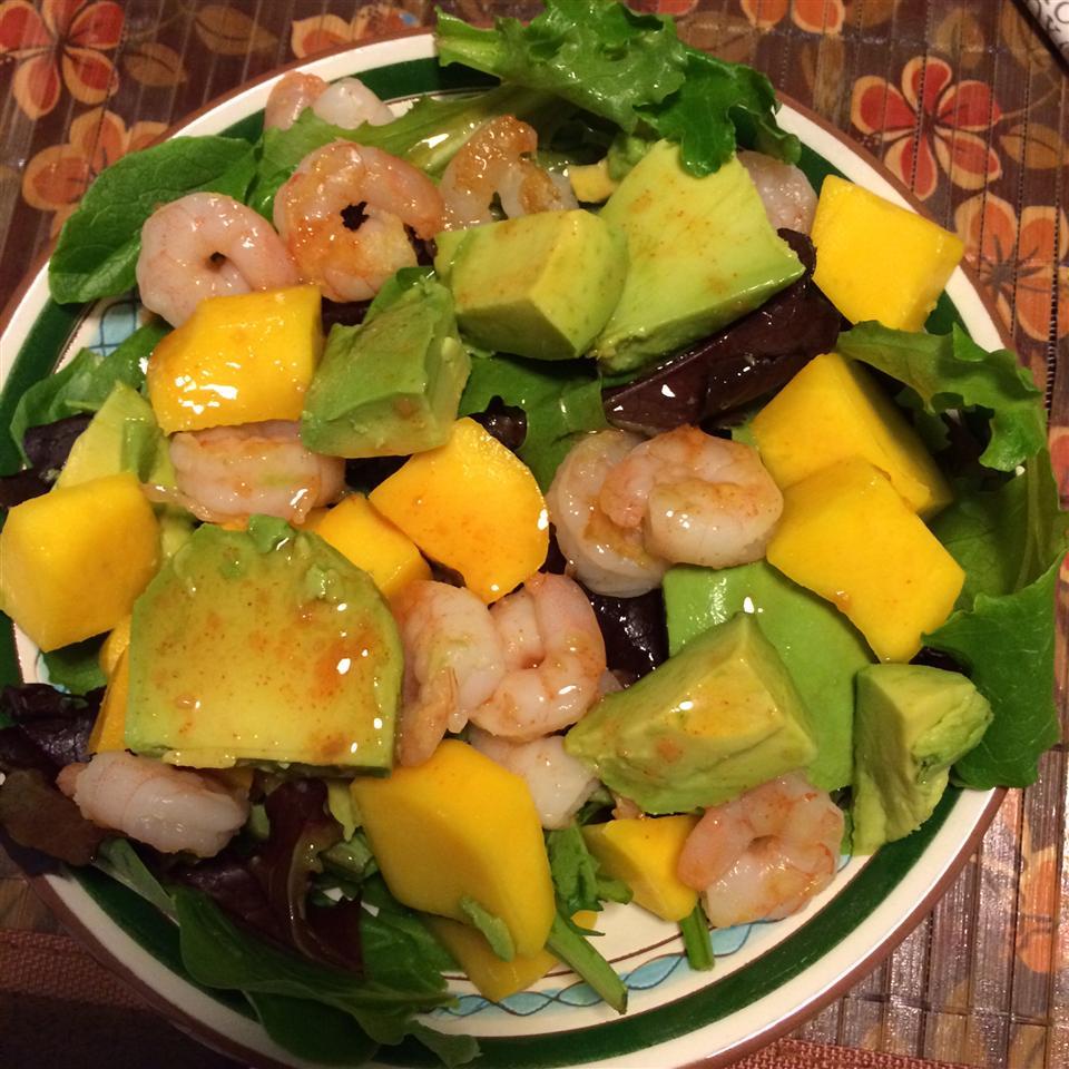 Chicken, Avocado and Mango Salad dayfogle