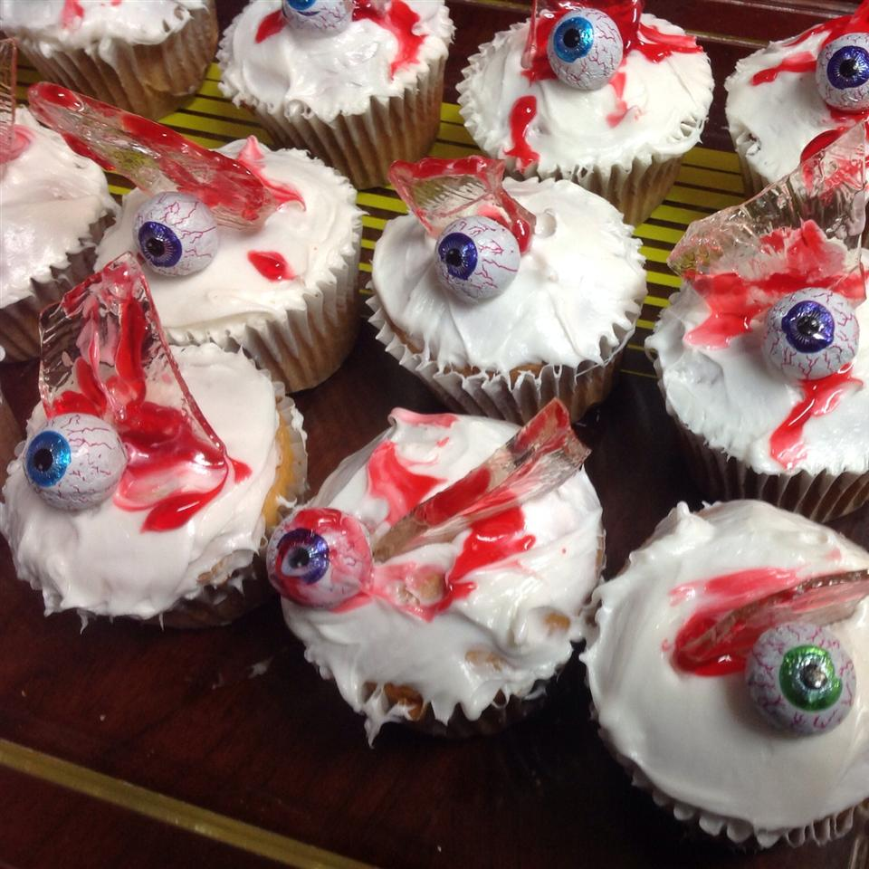 Bloody Broken Glass Cupcakes Renee,srestraunt