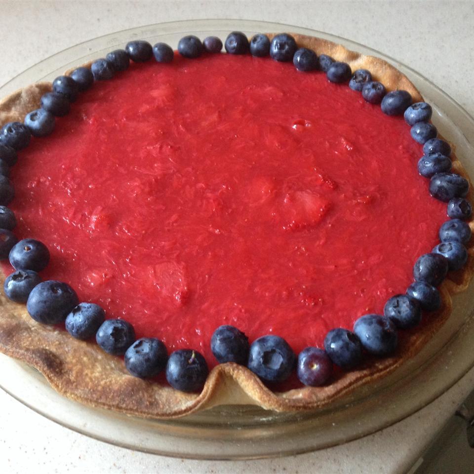 Deep Dish Strawberry Pie Jana