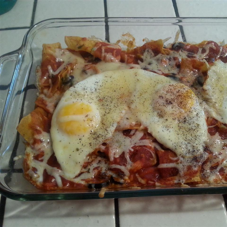 Sunday Morning Chilaquiles