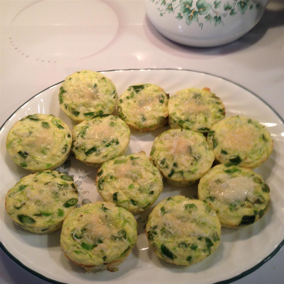 Zucchini Scallion Frittata Cups Lou