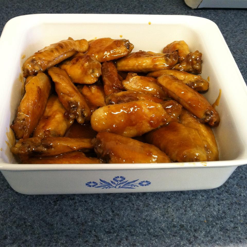 Orange Glazed Chicken Wings Casey