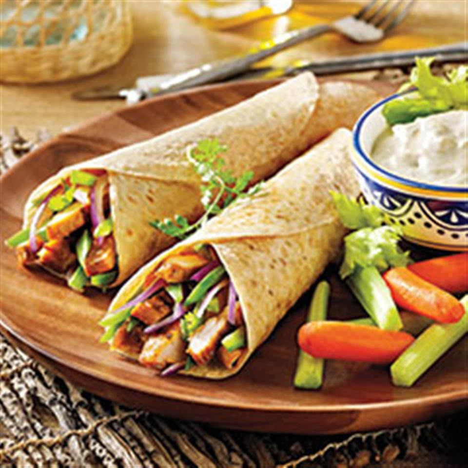 Buffalo Chicken Tacos from Mission®