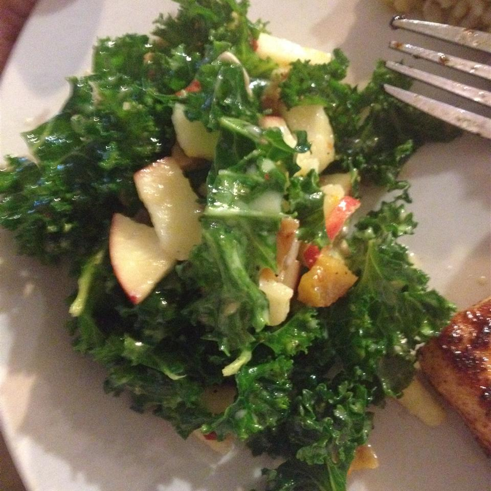 Chef John's Raw Kale Salad Feedyourman