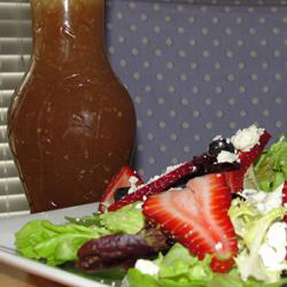 Sesame Sweet and Sour Salad Dressing