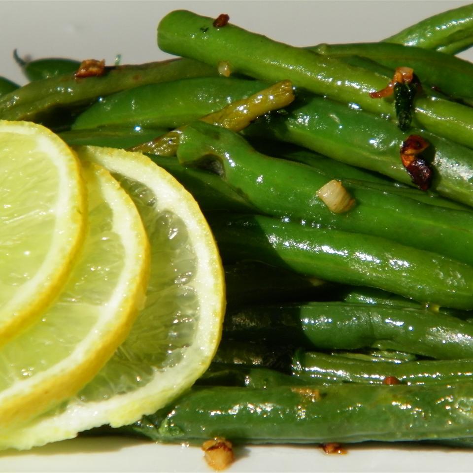 Lemon-Parsley Green Beans Seattle2Sydney