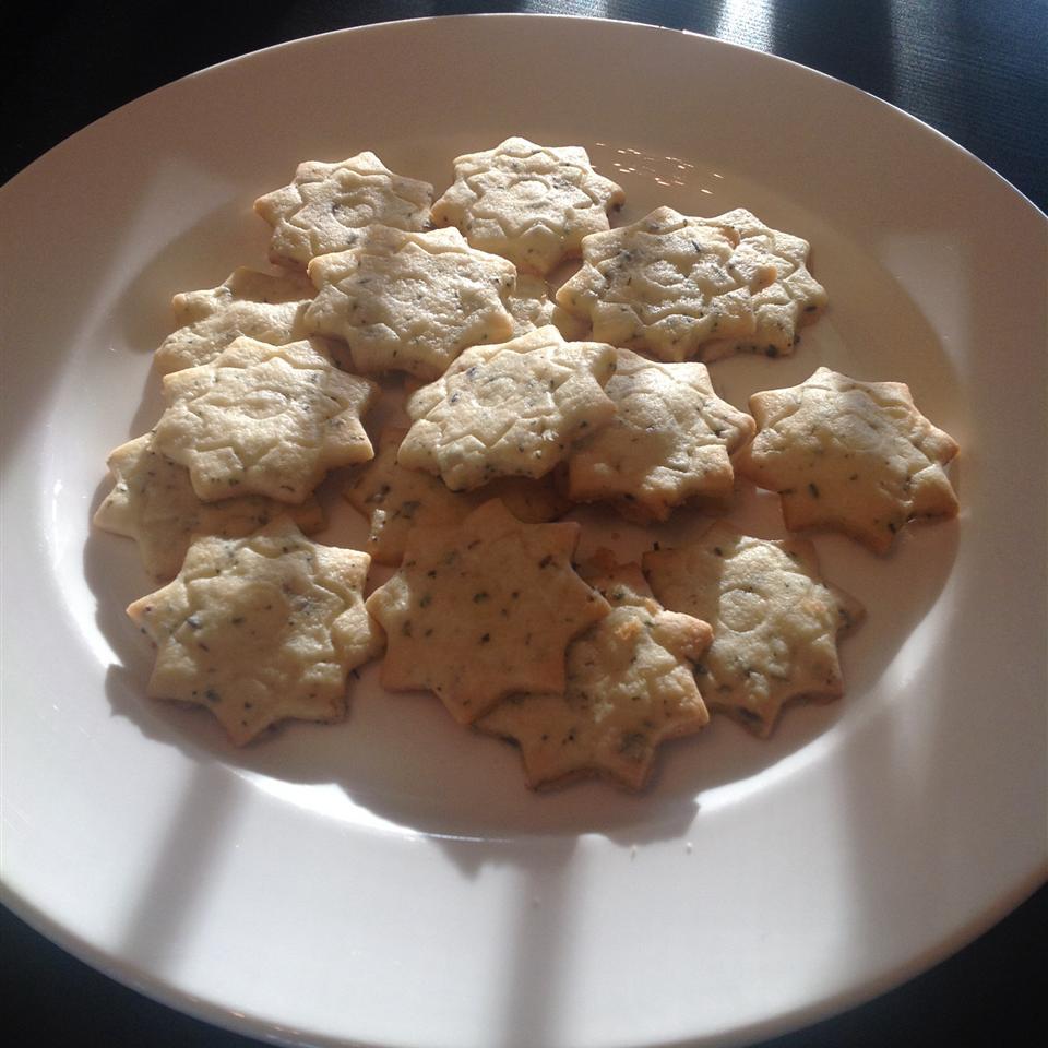 Lavender Shortbread Cookies ONIOND